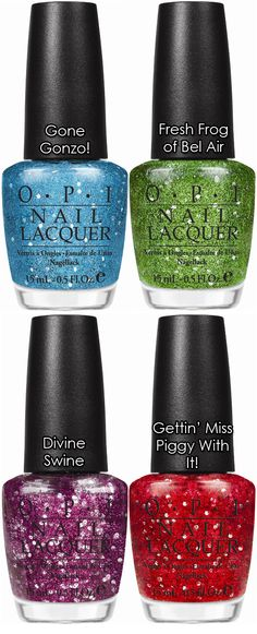 The Muppets Collection by OPI. WANT!