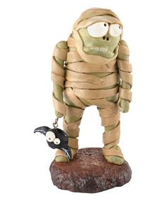 Mummy Figurine   omg adorable - want! for all year not just for Halloween
