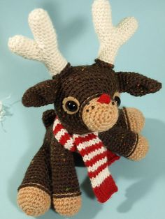 Ravelry: Murray the reindeer pattern by Dawn Toussaint