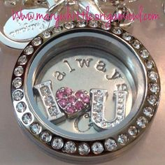 Tell her how much you Love her by giving her a Origami Owl Locket. Find me on Facebook today.