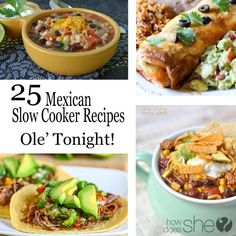 25 Mexican Slow Cook