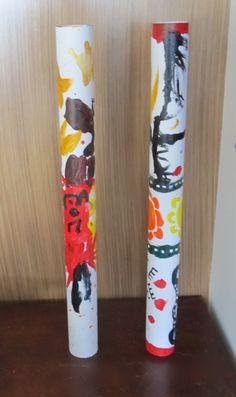 Australia Theme Day - Make a Didgeridoo