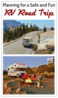 What if a tire goes flat, you run out of gas, or you can't fix something that goes wrong, etc. One can imagine many of these scenarios but take heart: others have traveled this road before and you can learn a lot from them about being prepared. http://www.loveyourrv.com/advice-safe-fun-rv-road-trip/ #RV #Roadtrip