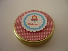 Mini latinha mint to be  Diâmetro da latinha 3,7 cm.  Personalizamos no tema da sua festa. R$1,00