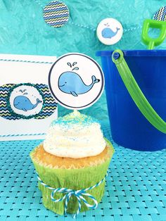 DIY Baby Whale Party