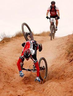Mtn Bike Crash