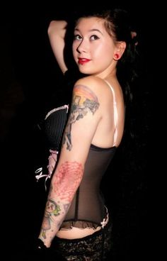Nay Marti, candidata al concurso MundoPinup - Tattoo is Pain 5.