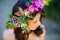 Tropical Punch Wedding Ideas | San Diego, California photo shoot
