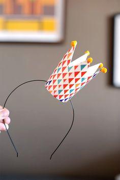 DIY Paper Cup Crown