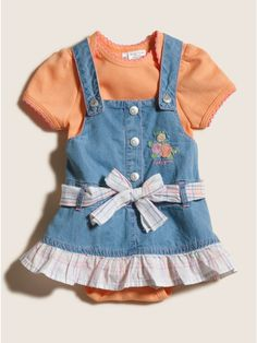 GUESS Jumper and Bodysuit Set #babyclothes