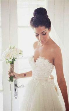 wedding dress wedding dresses | Romantic Wedding Dress~cute tattoo too.