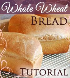 A great step-by-step tutorial on making whole grain bread in the Bosch mixer!