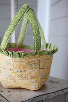 Spring Basket Download Pattern Only by sweetwaterscrapbook