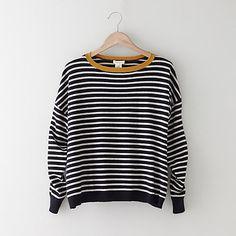 Striped Alexa Cashmere Sweater