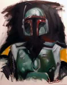 Boba Fett /by bdouglas215 #StarWars #art