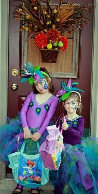 peacock costumes @Chris Cote Cote Largent maybe our littlest ones????? lol!