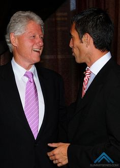 President Clinton. Download my all-new FREE women's easy diet at http://JorgeCruise.com