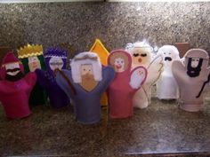 Seasons Of Joy: Christmas Nativity Puppets