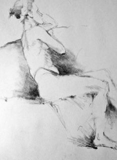 Life Drawing in Pencil