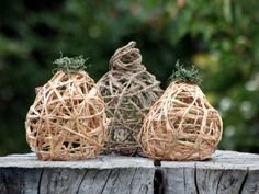 Raffia Pumpkins | Kids Crafts & Activities for Children | Kiwi Crate