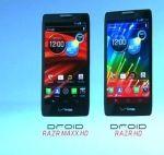 Motorola RAZR HD and RAZR MAXX HD - Flagships Of The New Motorola Lineup