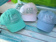 love the color of these hats!!