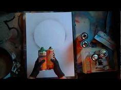 Riens Artwork - Interactive Spray Paint Art