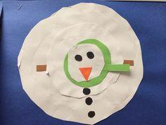 snowman melt, slp idea, languag art, winter theme, winter classroom, classroom art, teach idea