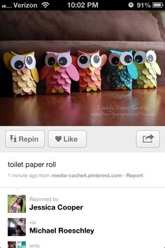 Toilet rolls for thanks giving