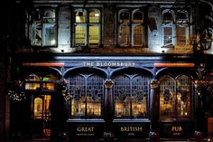 The Bloomsbury Tavern, Shaftesbury Avenue | From Eric Huybrechts