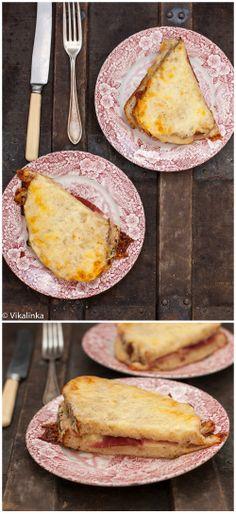 Classic Croque Monsieur Sandwich