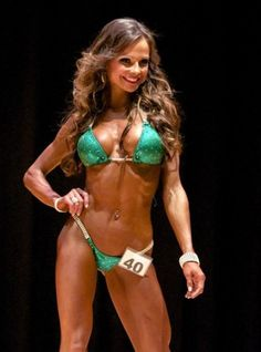 Maura Bouchard – 2012 NPC New Jersey Suburban Bikini A Class and Overall Winner