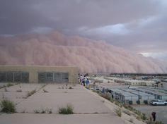 dust storm, iraq