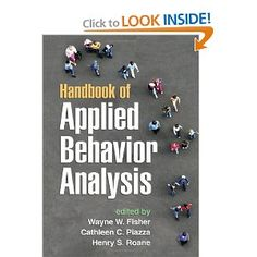 Handbook of Applied Behavior Analysis
