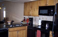 Kitchen in unit A116, Inverness at New Braunfels