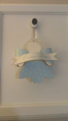 Angel using the Stampin' Up Gift Bow Bigz L die