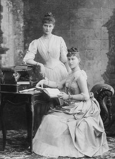 Alix and Ella the two Hessian sisters who married into the Romanov Family.