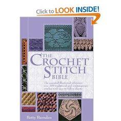 Must Have! Crochet Stitch Bible