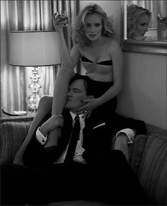 Quentin Tarantino and Diane Kruger in an issue of New York Magazine together.