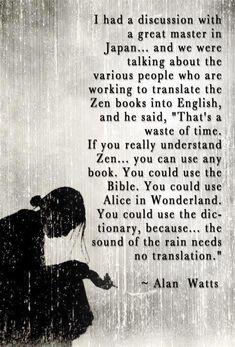 raini, art, zen, alan watts, beauti, inspiring words, quot, black, photographi