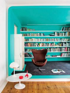 reading rainbow, books, chair, interior, room colours, home libraries, apocalypse, color, boxes