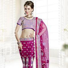 #Pink #Lehenga Choli with Dupatta