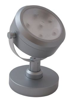 Rite Lite LPL720 6-LED Battery-Operated Spotlight, Grey by Lancer & Loader. $10.81. From the Manufacturer                The Rite Lite LPL720 6 LED Spot Light (Grey) has six super bright white LEDs, which last up to 100,000 hours.  The spotlight has an adjustable base to swivel left or right and adjustable neck to raise and lower.  The light head also swivels to provide ideal lighting where you need it. One-touch on/off/dimmer operation, press once for full brightness, press agai...