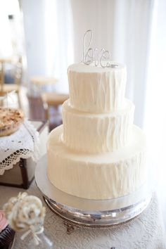Love cake topper. Wedding cake.