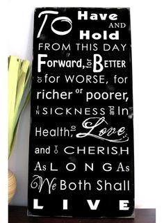 Where to get the Wedding Vows art for Master Bedroom.