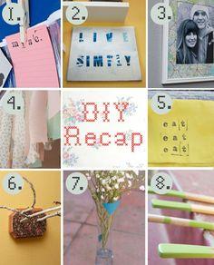 :: 8 easy and cheap DIYs ::