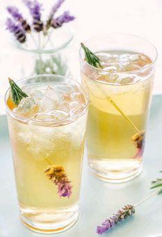 Lavender Iced Tea