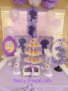 purple picture frame with boots...like! and the purple uncrustables