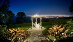Night Weddings with Lights | If you decide to go with a summer night wedding the venue is a no ...