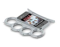 iphone cases, iphone 4s, stuff, gadget, brass knuckl, iphon case, iknuck, iphone 4 cases, knuckl iphon